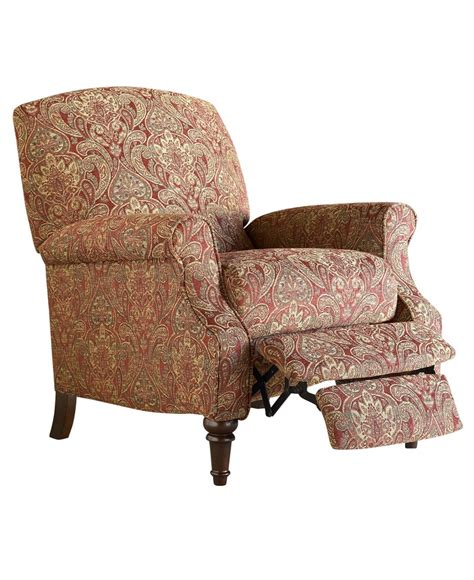 macy s recliner chairs chloe recliner chair high leg country style furniture