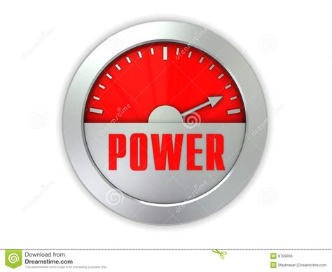 meter to power meter royalty free stock images image 8759669
