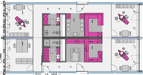 Orthodontic Office Design Floor Plan by Dental Clinic Gleis10 Urbanalyse