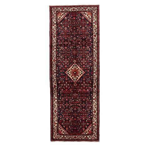 Darya Rugs Authentic Black 3 Ft 8 In X 10 Ft 3 In Authentic Rug