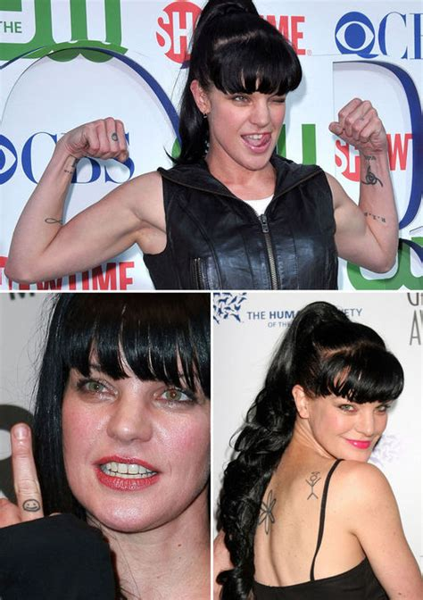 pauley perrette tattoos perrette pauley tattoos