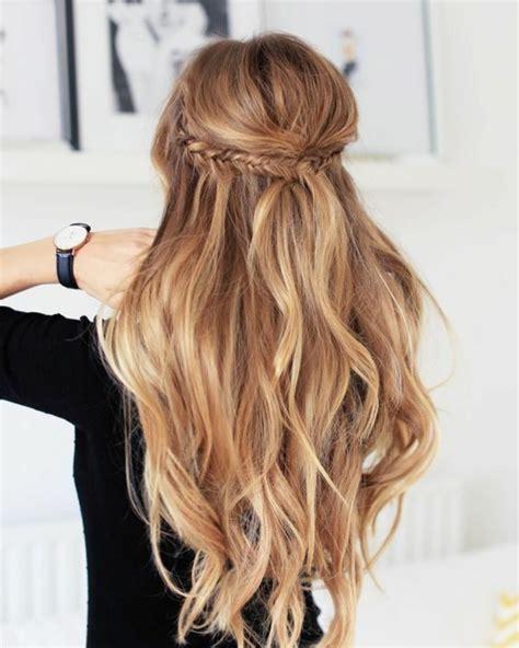 Exemple De Coiffure Cheveux by 1001 Tutoriels Et Id 233 Es Comment Faire Une Tresse Soi M 234 Me