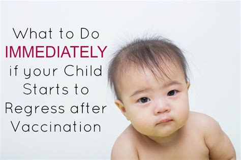 Vaccine Detox Wellness by Vaccine Detox Do This Immediately If Baby Regresses After
