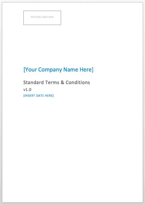 consulting terms and conditions template consultancy terms and conditions template
