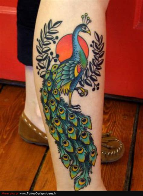 peacock tattoos tatto peacock designs