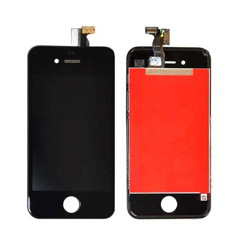 Lcd Fullset Iphone 55s Original Black Tested lcd display touchscreen digitizer for apple iphone 4 dialog hub malaysia