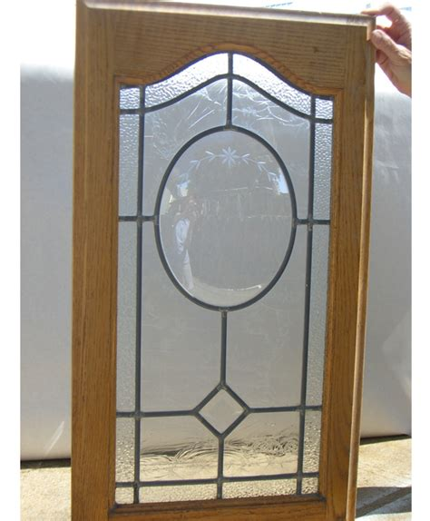 Arched Cabinet Doors Arched Cabinet Door With Convex Oval Field Glue Chip And Small Border Stained And