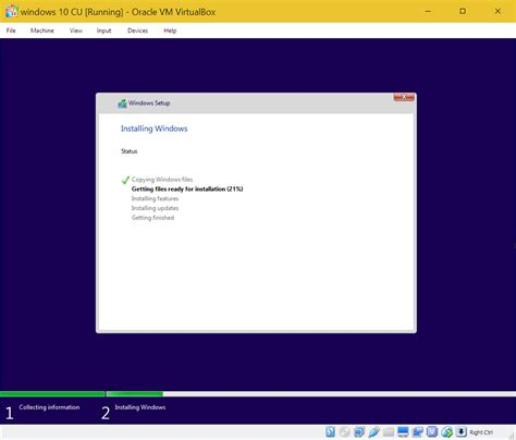 install windows 10 new build how to install windows 10 creators update build 14986 on