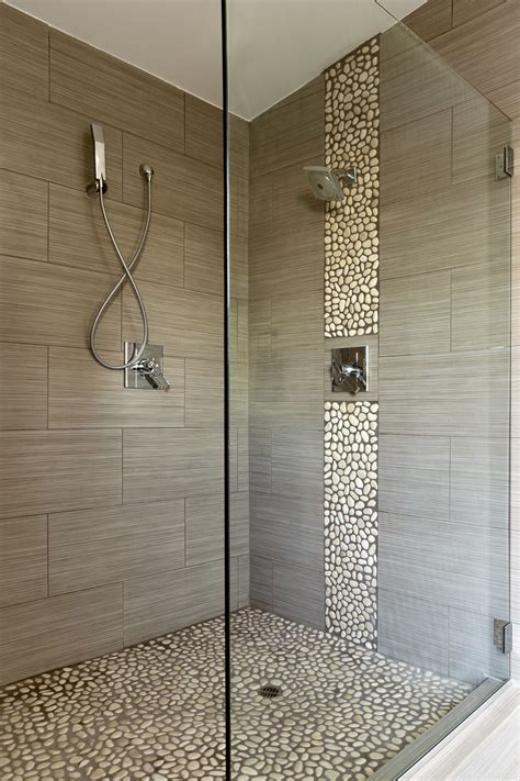 tiles enticing pebble tile shower floor for bathroom