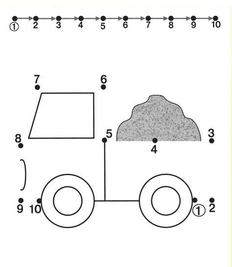 preschoolers cars tracing worksheets for free dot