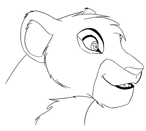 coloring pages lioness wip lioness by x0dawn0x on deviantart