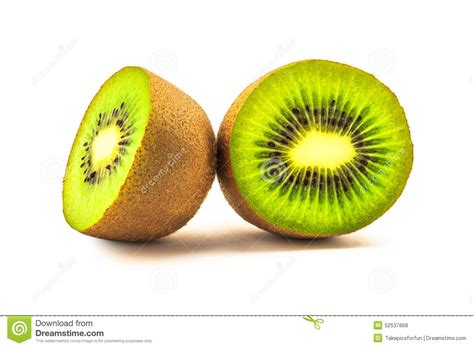 fruit section cross section of kiwi fruit stock photo image 52537668