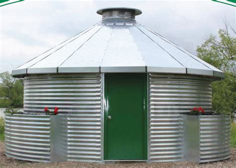 Grain Bin Shed by Grain Bin Homes