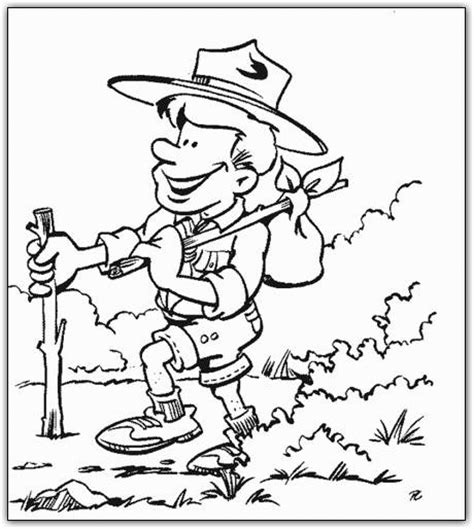 boy scouts coloring pages coloringpagesabc com