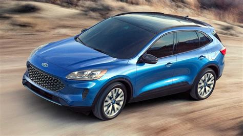 ford kuga new 2020 2020 ford kuga new look and hybrid tech