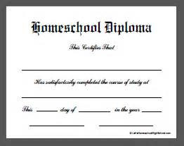 homeschool diploma template homeschool ukashbilisim