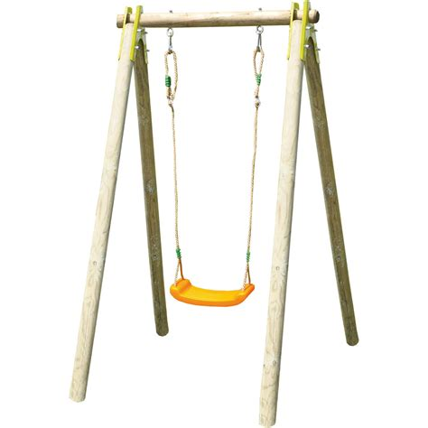 swing by swing garden kids swing natura wooden swing set adjustable seat