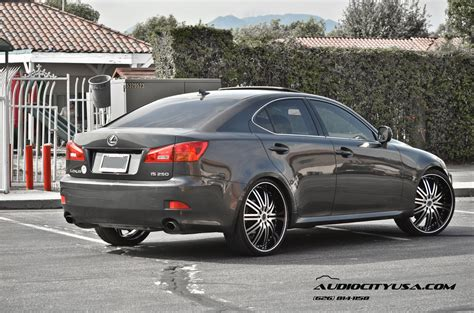 lexus is 250 custom black lexus is 250 custom wheels versante 212 22x8 0 et 38