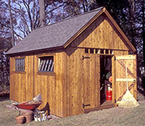 colonial shed plans   build diy blueprints