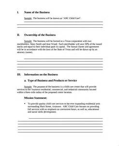 developing a business plan template sle professional business plan 6 documents in pdf