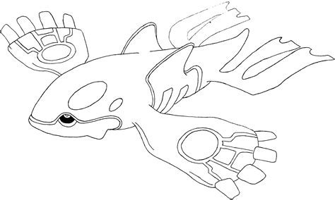 pokemon coloring pages primal kyogre pokemon primal kyogre coloring pages