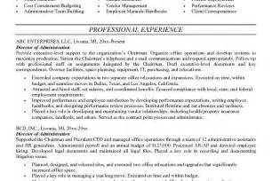 sle resume for office administration 100 100 administrative resume sle help banking