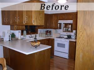 Repainting Kitchen Cabinets Before And After Paint Kitchen Cabinets Before And After