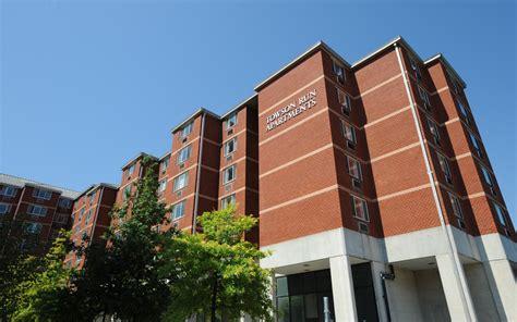 residence halls apartments towson university