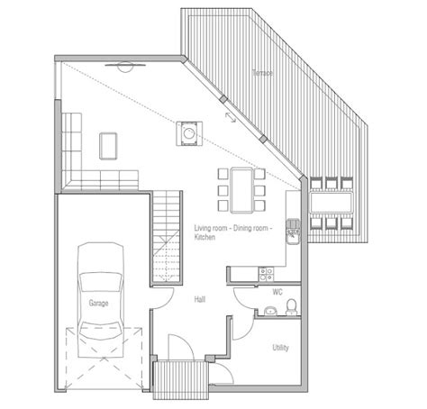modern house plans 2013 contemporary house plans contemporary home plan ch155
