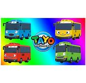 Gambar Tayo Bus Friends Learn Colors Kids Toddlers Belajar