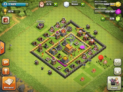 layout editor coc clash of clans level 6 town hall defense thread town