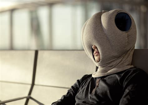 Nap Anywhere Pillow by Ostrich Pillow Hat Lets You Sleep Anywhere Disguises