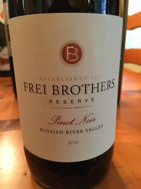 community tasting notes 2011 frei brothers pinot noir