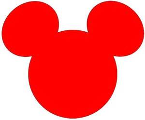 mickey mouse face clipart clipartsgram com