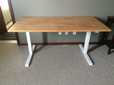 Ikea Table Top Desk by Standing Desk Multitable Modtable And Ikea Gerton