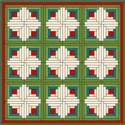 Quilting Patterns For Log Cabin Blocks by Log Cabin Quilt Block