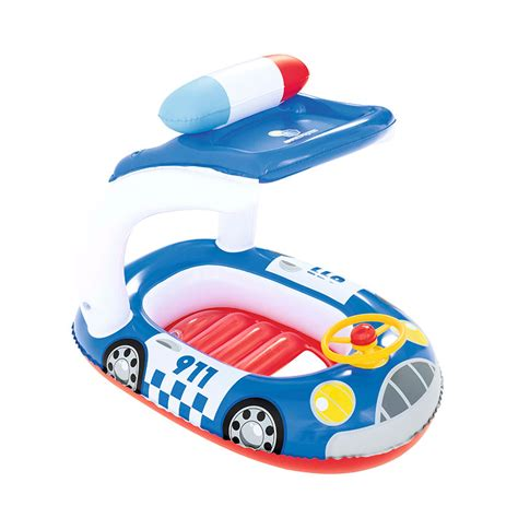 bestway 98cm x 66cm uv careful kiddie car float outdoor