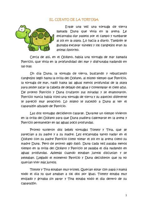 el cuento de la el cuento de la tortuga