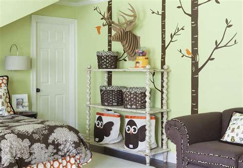 avocado green bedroom 3 sprouts owl storage bin contemporary girl s room