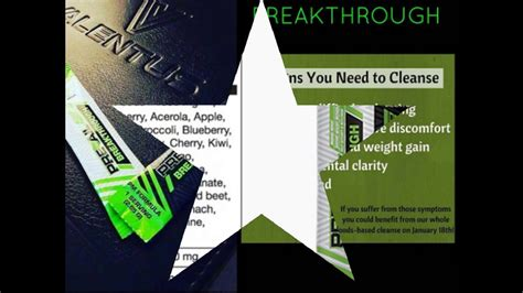 Breakthrough Detox by Valentus Breakthrough 12 Day Cleanse To Detoxify