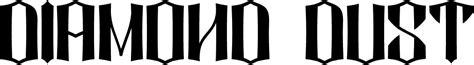 tattoo font diamond dust diamond dust font