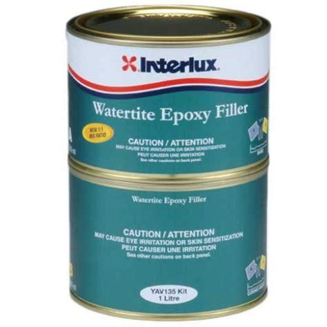 epoxy paint for steel boats interlux watertite epoxy filler liter light blue epoxy