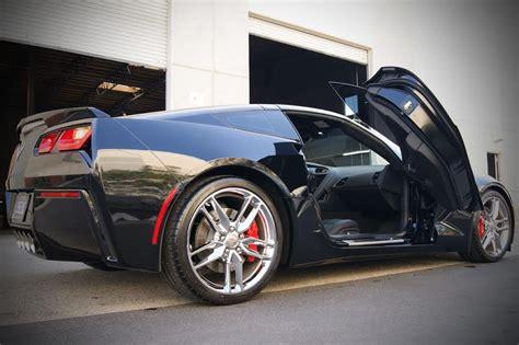 corvette vertical doors vertical doors c7 corvette stingray z06 grand sport 2014