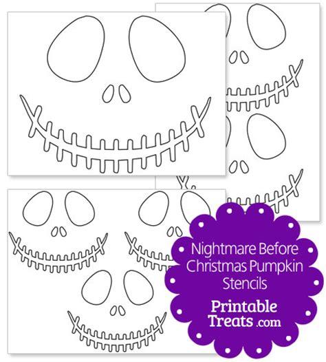 free printable pumpkin carving stencils nightmare before christmas printable nightmare before christmas pumpkin stencils
