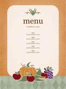 Free party menu template 2 docx pdf 1 page s