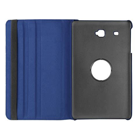 blue leather cover smart leather samsung galaxy tab a 7 0 2016 blue