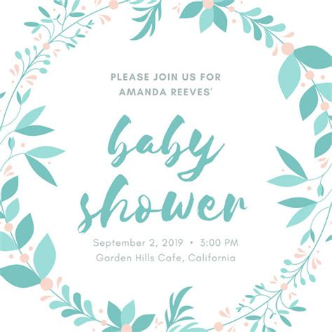 When Are You Supposed To A Baby Shower by Baby Shower Invitation Templates Canva