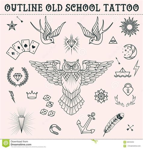 old school tattoo outlines best 25 heart outline tattoo ideas on pinterest cat paw