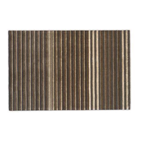 tappeto calligaris tappeto multistripe 200x300 marrone calligaris