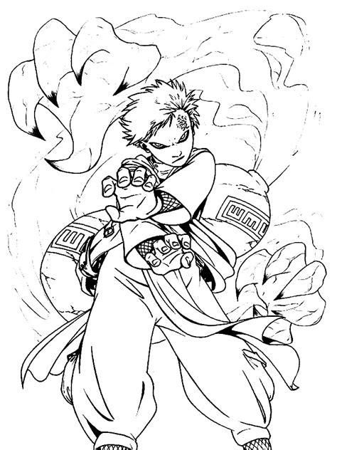 Imprimir gratuitamente desenhos de Naruto para colorir